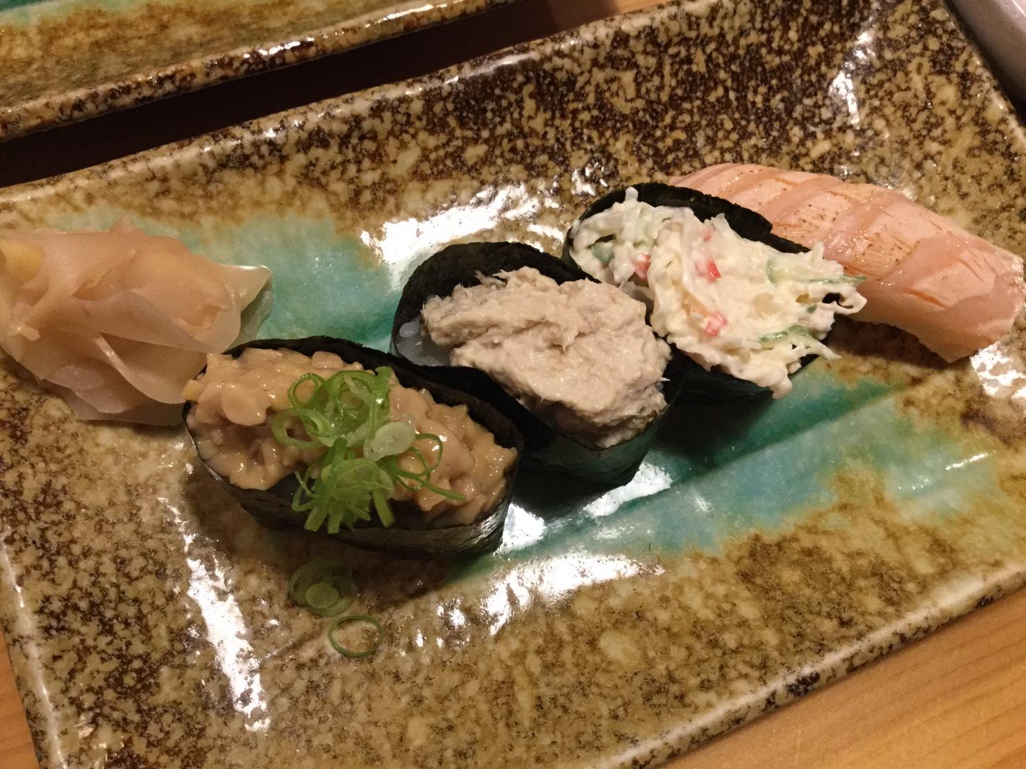 お寿司一貫
