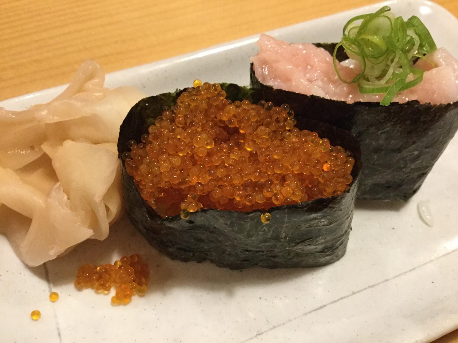 や台ずしのお寿司